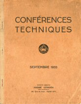 conferences techniques